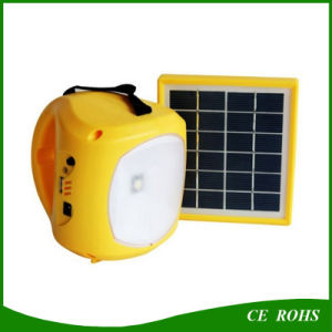 Portable Hiking Solar Light Outdoor Camping Lamp with Radio and USB Port for Charging pictures & photos