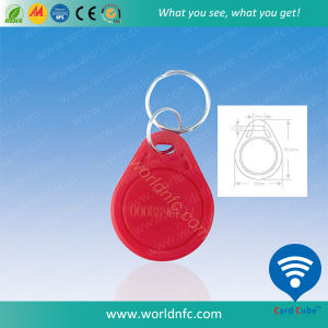 Promotional 125kHz Tk4100 ABS RFID Keyfob, Key Tag pictures & photos