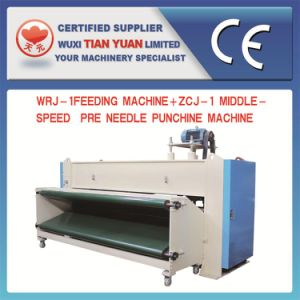 Nonwoven Needle Punching Felt Making Machine with Feeding Machine pictures & photos