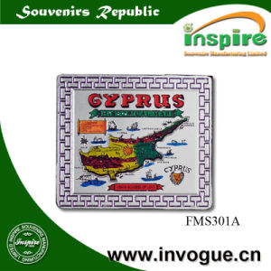 Souvenir Foil Magnet for Cyprus Market pictures & photos