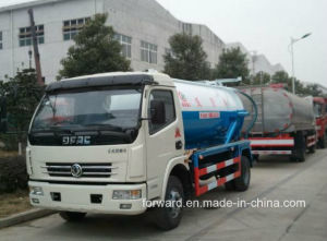 Dongfeng Vacuum Suction Sewage Truck with 5 Cbm Capacity