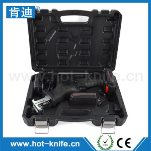 300mm Stroke Portable Reciprocating Cordless Electric Saw with Quick Release Chunk pictures & photos