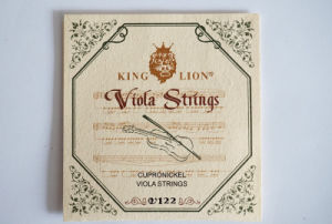 Musical Instrument King Lion Brand Nickel Viola String for Sale pictures & photos