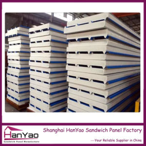 New Customized Thermal Insulated Polyurethane PU Sandwich Roofing Panel pictures & photos
