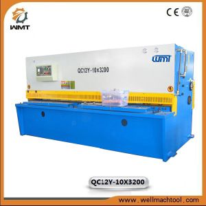 Hydraulic Shearing Machinery QC12y-10X3200 with Ce Approved pictures & photos