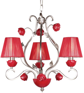 Rose Flower Pendant Light (HLH-22038-3) pictures & photos