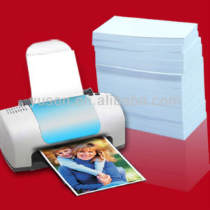 220GSM Double Matte Sides Inkjet Photo Paper With Grain Texture Paper pictures & photos