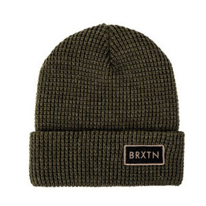 Hot Sale Cheap Knit Beanie Hat with Leather Patch Logo pictures & photos