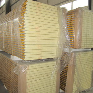 Polyurethane Thermal Insulation Sandwich Panel for Wall Panel pictures & photos