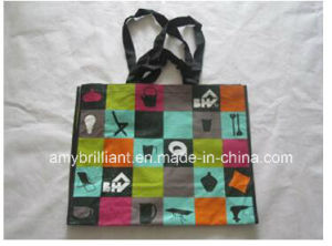 Grocery PP Woven Garment Storage Tote Shopping Bag for Promotional pictures & photos