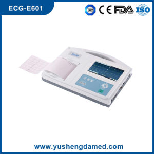 Medical Equipment Six Channel Digital ECG EKG Machine pictures & photos