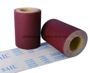 J-Wt Cloth Calcined Aluminum Oxide Specisal Coated Abrasive Cloth Roll Ja548 pictures & photos