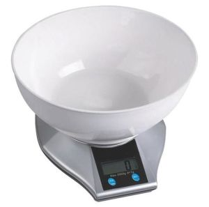 5kg Plastic Digital Kitchen Scale with Bowl pictures & photos