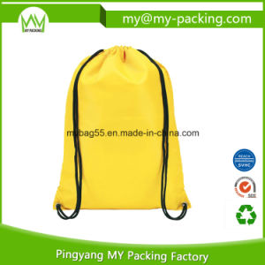Promotion Polyester or Nonwoven Child Drawstring Gift Bag pictures & photos