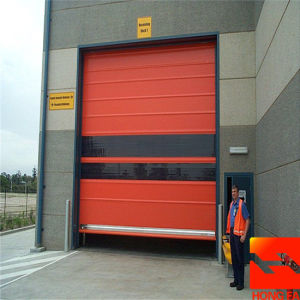 Rapid Roller Door New Design Warehouse High Speed Rolling Door (HF-K346) pictures & photos