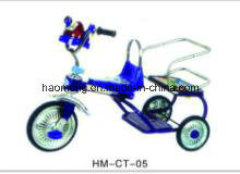 Double Seat Kids Tricycle for Children pictures & photos