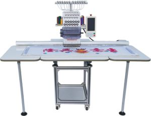Single Head Embroidery Machine for T-Shirt pictures & photos