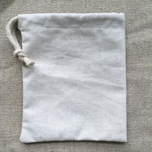 Mini Reusale Natural Wholesale Hemp Bag Drawstring with One String pictures & photos
