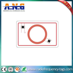 White PVC Combo Chip Hf+Lf RFID Inlay/MIFARE Inlay pictures & photos