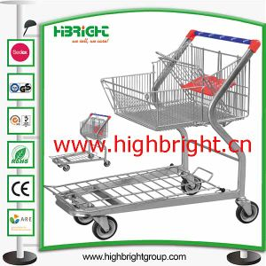 Steel Material Handling Platform Trolley Cart pictures & photos