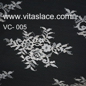 1.5m Width Factory Polyester French Lace Vc-005 pictures & photos