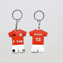 Football Shirt Soccer Jersey Keychain for Wholesale pictures & photos