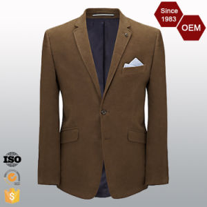 OEM Men′s Branded Latest Design 2 Button Fashion Suit Blazer pictures & photos
