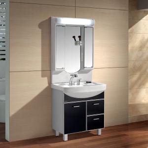 Waterproof PVC Cabinet Bathroom Furniture, Fashion PVC Bathroom Cabinet (T75S)