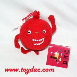 Plush Stuffed Red Pomegranate Key Ring pictures & photos
