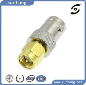 Gold Plated SMA Male to BNC Female RF Adapter Connector pictures & photos