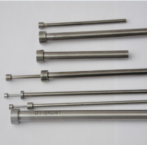 High Precision Vacuum Nitrided Straight Ejector Pin of Mold Parts pictures & photos