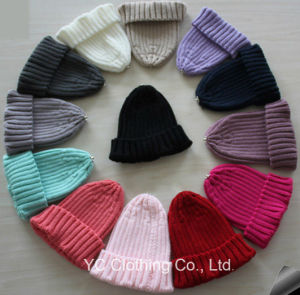 New Style Cute Wool Knitting Beanie Baby Cap pictures & photos