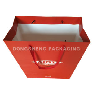 Printed Paper Gift Packing Bag for Garment&Shoes &Sunglass pictures & photos