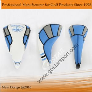 New Embroidery PU Golf Headcover pictures & photos
