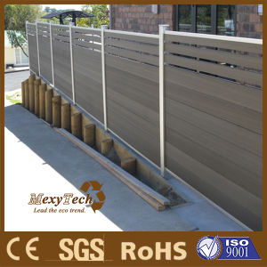 Durable WPC Aluminium Wood Fence: 90*25mm pictures & photos