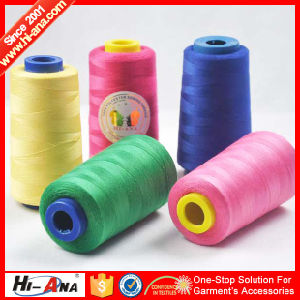 Over 9000 Designs Good Price 100% Polyester Sewing Thread pictures & photos