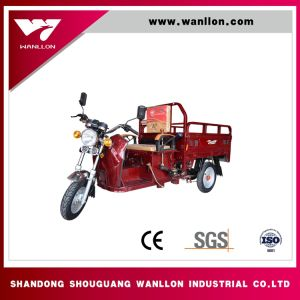 60V800W Hybrid Electric/Gasoline Tricycle Adults Tricycle pictures & photos