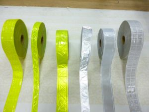 Crystal Reflective Tape for Safety Clothing pictures & photos