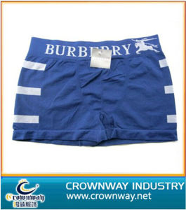 High Quality Cotton Men′s Underwear with Jacquard Waist pictures & photos