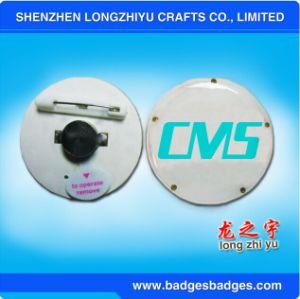 Promotional Cheap Printing LED Badge Flashing Blinking Pins pictures & photos