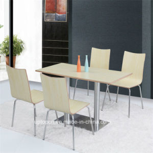 Wholesale Cafeteria Leisure Table and Chair Sets (SP-CT612) pictures & photos