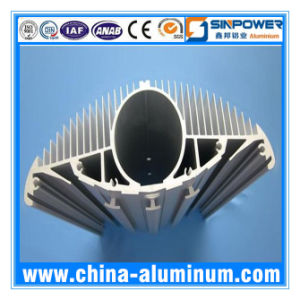 Precision Heat Sink Aluminum Profile with Large Size