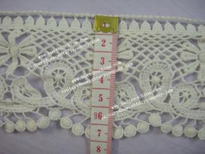007 Wholesale Fashion New Design Cotton/Nylon Lady Dress Lace Fabric pictures & photos