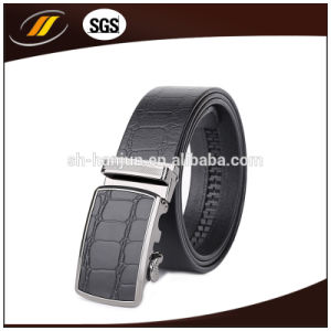 Genuine Leather Mens Alloy Automatic Buckle Waist Belts (HJ3101)