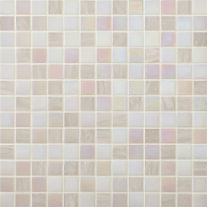 4mm Hotel Decor White Glass Mosaic pictures & photos