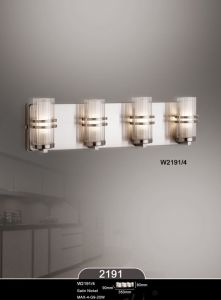 Hot Selling Modern Glass Chrome Practical Home Hotel Wall Lamp (W2191-4) pictures & photos