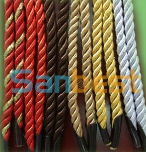 Polyester Twisted Round Rope for Paper Bag pictures & photos