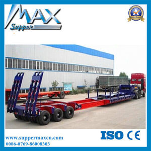 Hydraulic Gooseneck Detachable Low Bed Loader Trailer pictures & photos