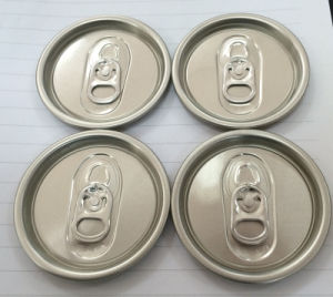 200 Sot Energy Drink Lids Aluminum Can Easy Open End pictures & photos