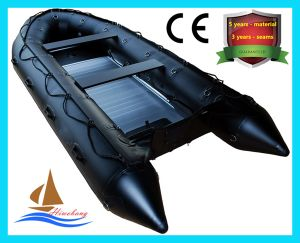 High Quality PVC Inflatable Rescue Boat, Fishing Boat with CE pictures & photos